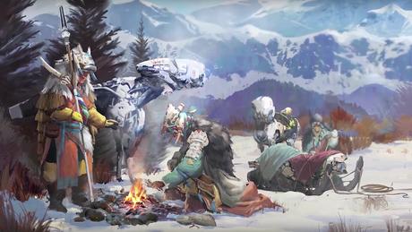 Conoce a los Banuk en Horizon: Zero Dawn - The Frozen Wilds