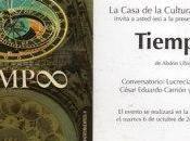 Sobre libro TIEMP∞ Abdón Ubidia Santiago Peña Bossano