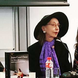 Rueda de prensa Joyce Carol Oates