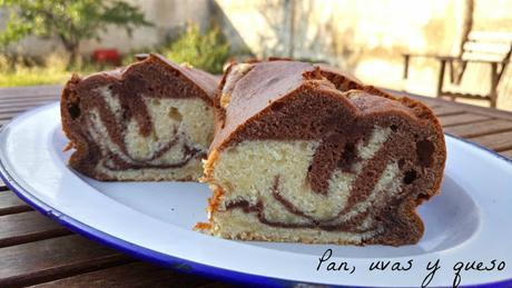 Torta due colori (tradicional o Thermomix)