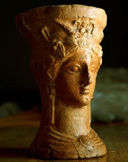 Una arcilla especial para las diosas mediterráneas.