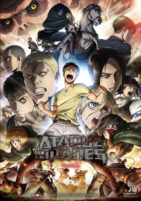 La tercera temporada de 'Ataque a los titanes', anunciada para julio de 2018