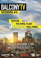 Concierto de Venturi, The Royal Flash y Paul Panes en Moby Dick Club