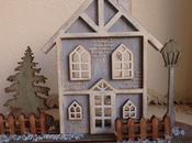 Conjunto casita navideña