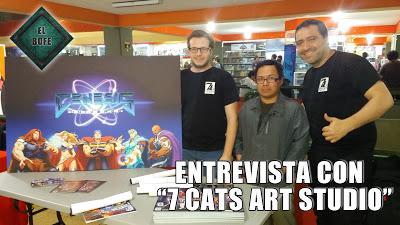 Entrevista con 7 Cats Art Studio