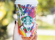 edición navideña vaso Starbucks está aquí invita ponernos creativos