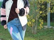 Abrigo pelo colores sweater chenilla