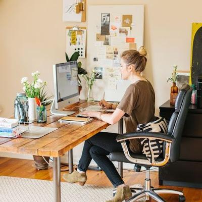 Un escritorio bonito y protegido