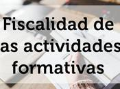 Fiscalidad actividades formativas