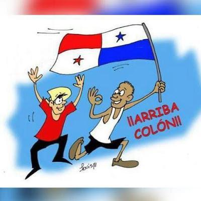 El primer Desfile Patriótico por las calles de la Ciudades de Panamá y Colón