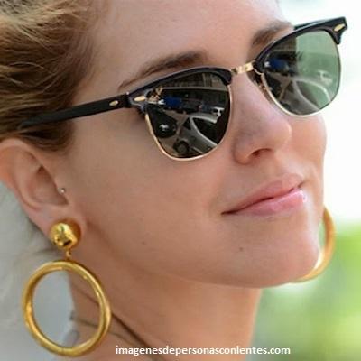 modelos de gafas de sol ray ban para mujer aretes