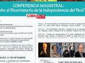 Rumbo bicentenario independencia perú. ucss-sociedad beneficencia-academia historia-escorial