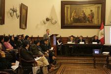 RUMBO AL BICENTENARIO DE LA INDEPENDENCIA DEL PERÚ. UCSS-SOCIEDAD DE BENEFICENCIA-ACADEMIA HISTORIA-ESCORIAL