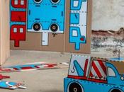 Inside Box: proyecto convierte cajas cartón juguetes para niños refugiados