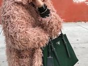 Pink flurry coat