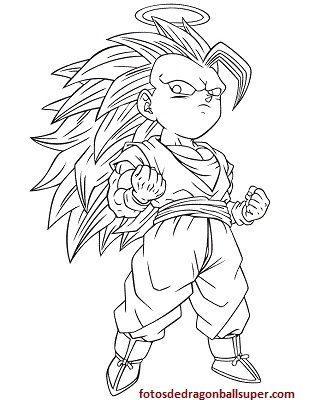 Goku Ssj 3 Para Colorear Imagui Wallpaperzen Org