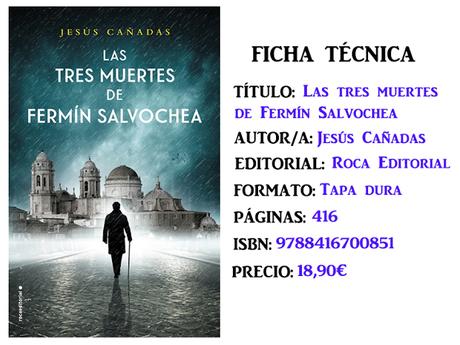 Reseña: Las tres muertes de Fermín Salvochea, de Jesús Cañadas