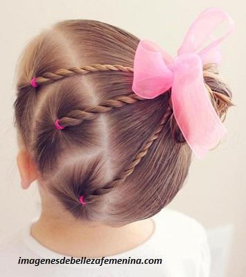 Peinados Para Nina Faciles Y Rapidos Con Trenzas Para Casa Paperblog