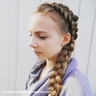 4 Bonitos Y Sencillos Peinados Para Nina Con Trenzas De Lado Paperblog
