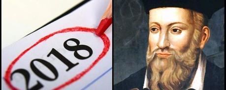 Lo que Nostradamus predijo para el 2018?