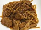 Tallarines carne