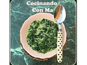 Espinacas Crema Moulinex Cuisine Companion