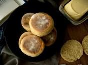 English muffins panecillos sartén estilo inglés