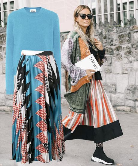 Inspiraciones para una maxi falda