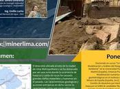 #MinerLima2017 Domingo Excursión Geológica Evaluación Peligros Huaycos Chosica