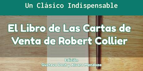 El libro de las cartas de venta de Robert Collier en PDF GRATIS