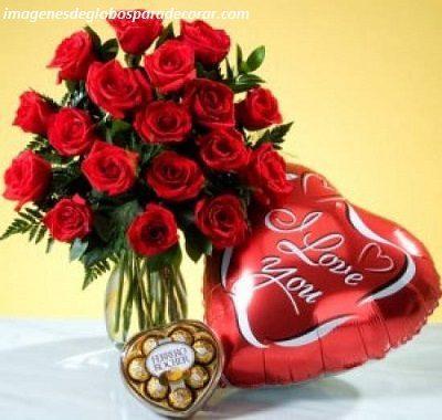 imagenes de amor con globos regalo