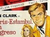 PARÍS-ESTAMBUL, REGRESO (Agente dall'oriente furore) (Italia, Francia, España; 1966) Acción