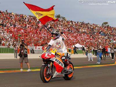 Marc Márquez, campeón del mundo de MotoGP 2017
