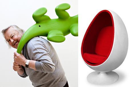 Designer Eero Aarnio.