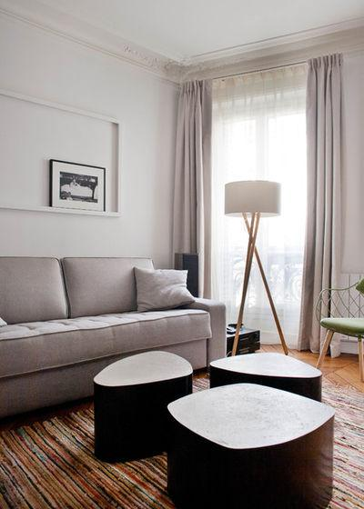 Contemporáneo Salón by Olivier Chabaud Architecte