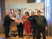 La Diputación de León firma cinco nuevos convenios con entidades sociales de la provincia a las que destina un total de 75.000 euros