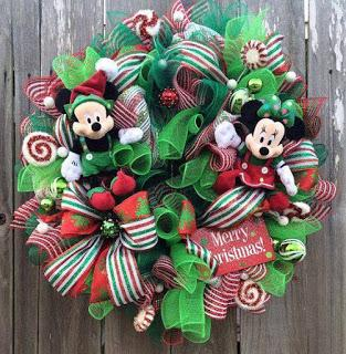 16 Ideas decorativas navideñas con temática de Mickey Mouse