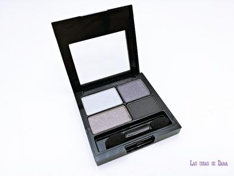 Revlon Colorstay Smokey Eyes maquillaje makeup black eyeshadow palette pencil delineador