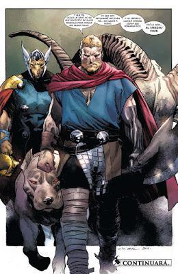 El indigno Thor (nº 1 a 5): La expiación del macho o el falo imposible