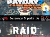 Sorteamos packs Raid: World PayDay Crimewave Edition