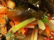 Ensalada tailandesa papaya verde algas productos Mimasa