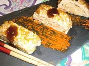 Tamagoyaki tortilla japonesa enrollada
