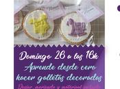 Taller repostería, galletas decoradas gata curiosa Salamanca