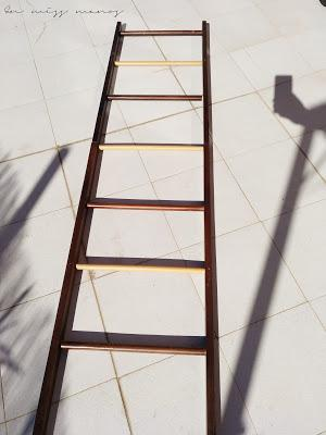DIY Escalera de madera