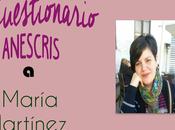 Cuestionario Anescris María Martínez Diosdado