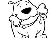 Tiernos dibujos para pintar perros cachorros lapiz