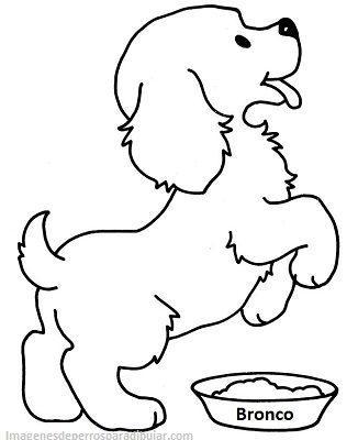 4 Tiernos Dibujos Para Pintar De Perros Cachorros A Lapiz Paperblog