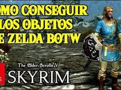 Objetos Zelda Skyrim Nintendo Switch Espada, escudo túnica