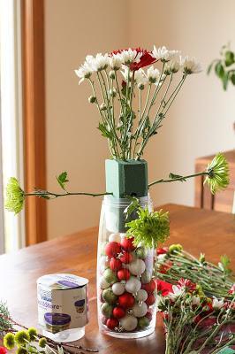 Aprende paso a paso cómo hacer arreglos navideños con flores
