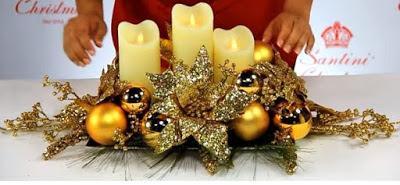 Aprende paso a paso c mo hacer arreglos navide os con - Como hacer un centro de mesa navideno ...